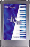 Alesis Stereo Jazz Piano Q Card