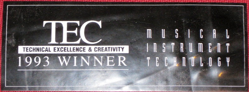 K2000 TEC winner sticker
